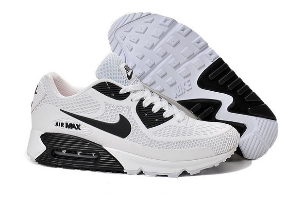 Air Max 90 Shoes White/black